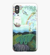 Peter comes to Neverland iPhone Case/Skin