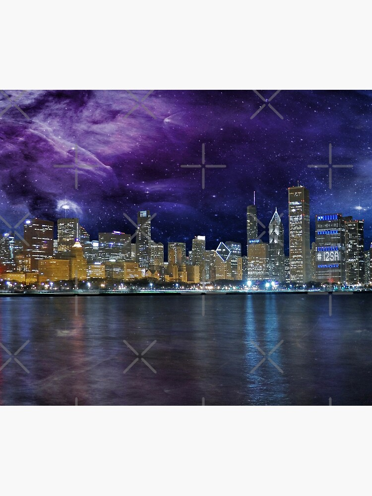 Spacey Chicago Skyline de FrankieCat