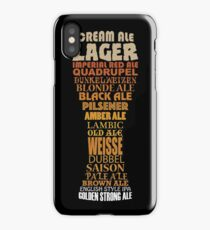 Beer Glass Cloud iPhone Case/Skin