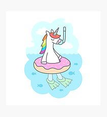 Unicorn Dive Photographic Print