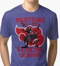 Itachi Uchiha v2 Tri-blend T-Shirt