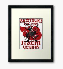 Itachi Uchiha v2 Framed Print
