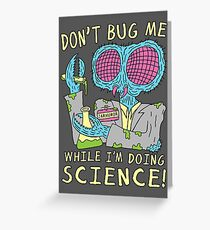 Bug Science Greeting Card