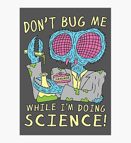 Bug Science Photographic Print