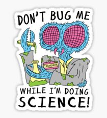Bug Science Sticker