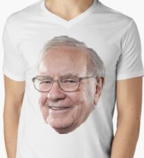 Warren Buffett Men's V-Neck T-Shirt