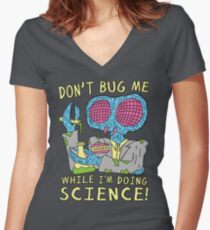 Bug Science Women's Fitted V-Neck T-Shirt