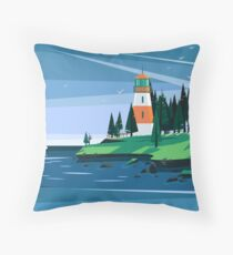 The Lighthouse Throw Pillow