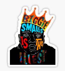 BIGGIE SMALLS Sticker