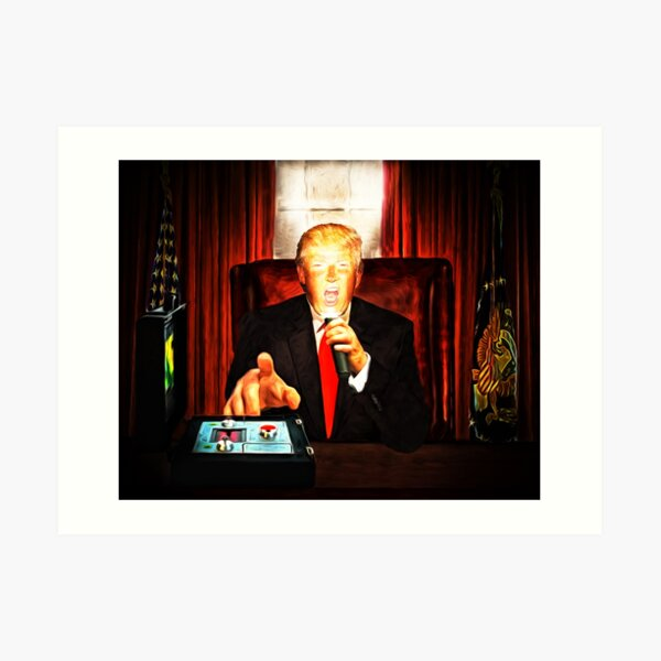 President Trump? Now that's Scary! 2 Art Print