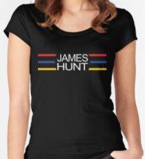 James Hunt - Helmet Gesign Women's Fitted Scoop T-Shirt