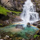 Fall with little rainbow by Silvia Ganora