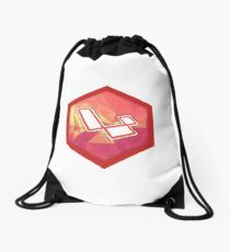 Laravel (custom sticker) Drawstring Bag