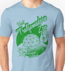 Besuchen Sie den Tralfamadore Zoo Slim Fit T-Shirt
