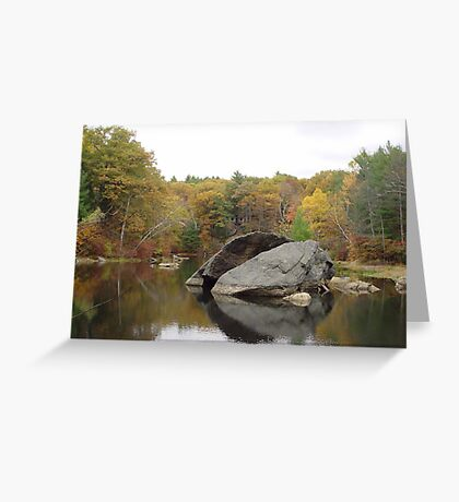 Rockhouse Pond Greeting Card