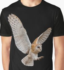 Barn Owl Attack Graphic T-Shirt