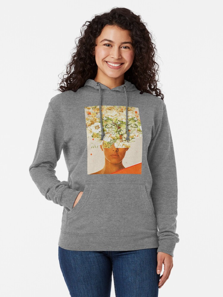 Alternate view of SuperFlowerHead Lightweight Hoodie