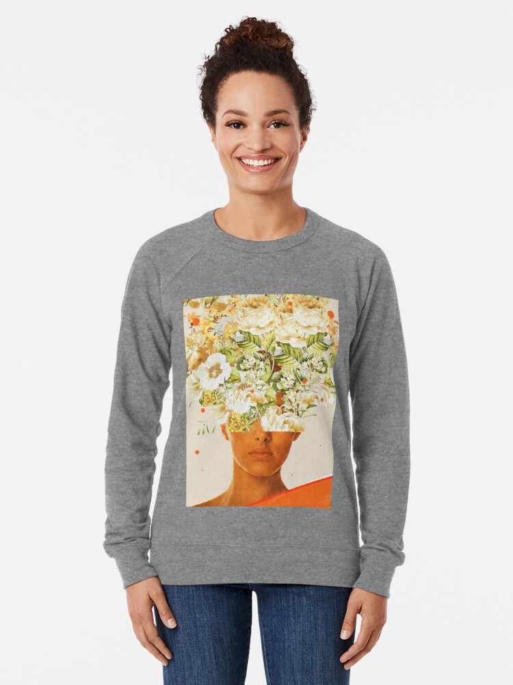 Alternate view of SuperFlowerHead Lightweight Sweatshirt