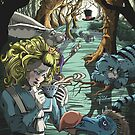 Melancholy Alice in Wonderland by grosvenordesign