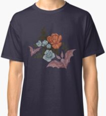 Botanical - moths and night flowers Classic T-Shirt