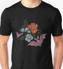 Botanical - moths and night flowers Slim Fit T-Shirt