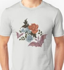 Botanical - moths and night flowers T-Shirt