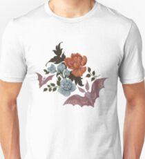 Botanical - moths and night flowers Unisex T-Shirt
