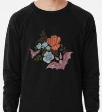 Botanical - moths and night flowers Lightweight Sweatshirt