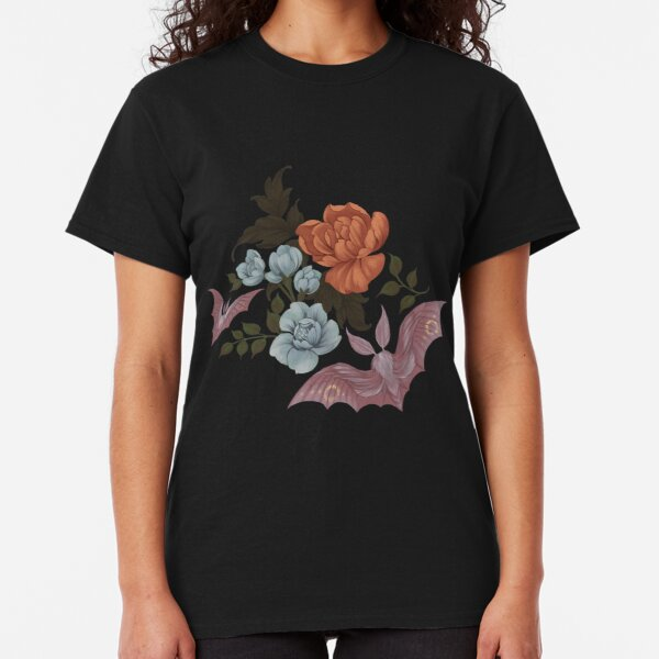 Botanical - moths and night flowers Classic T-Shirt