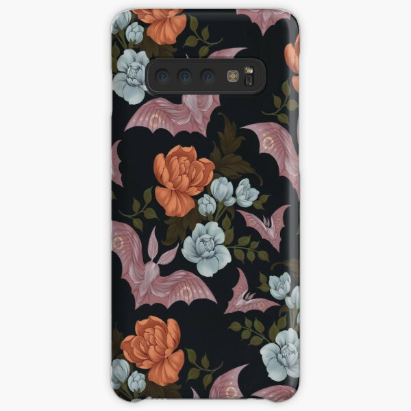 Botanical - moths and night flowers Samsung Galaxy Snap Case
