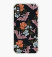 Botanical - moths and night flowers iPhone Case