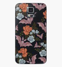 Funda/vinilo para Samsung Galaxy Botánico - polillas y flores nocturnas