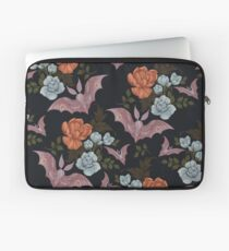 Botanical - moths and night flowers Laptop Sleeve