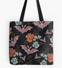 Botanical - moths and night flowers Tote Bag