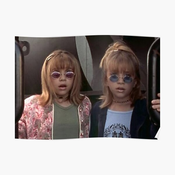 Mary-Kate and Ashley Olsen Poster