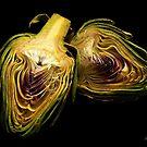 Artichoke hearts by Rosemary Sobiera