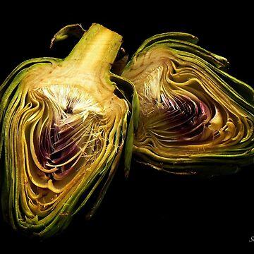 Artichoke hearts by rsobiera
