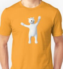 Toon ours polaire Unisex T-Shirt