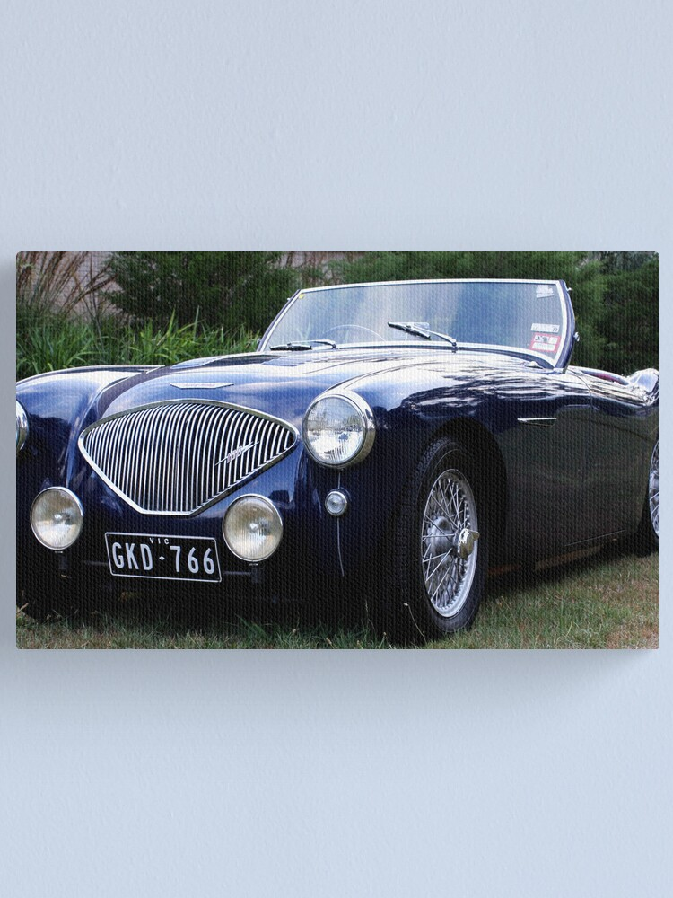 Alternate view of Austin Healey Canvas Print