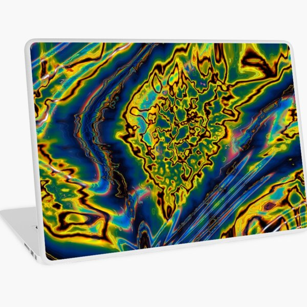 Iridescent Stars 8 Laptop Skin