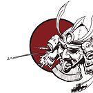 Japanese Samurai Mask  by grosvenordesign