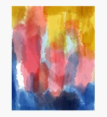 Abstract Watercolor Photographic Print