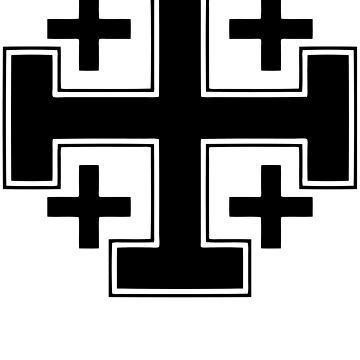 Black Cross alt II by five5six