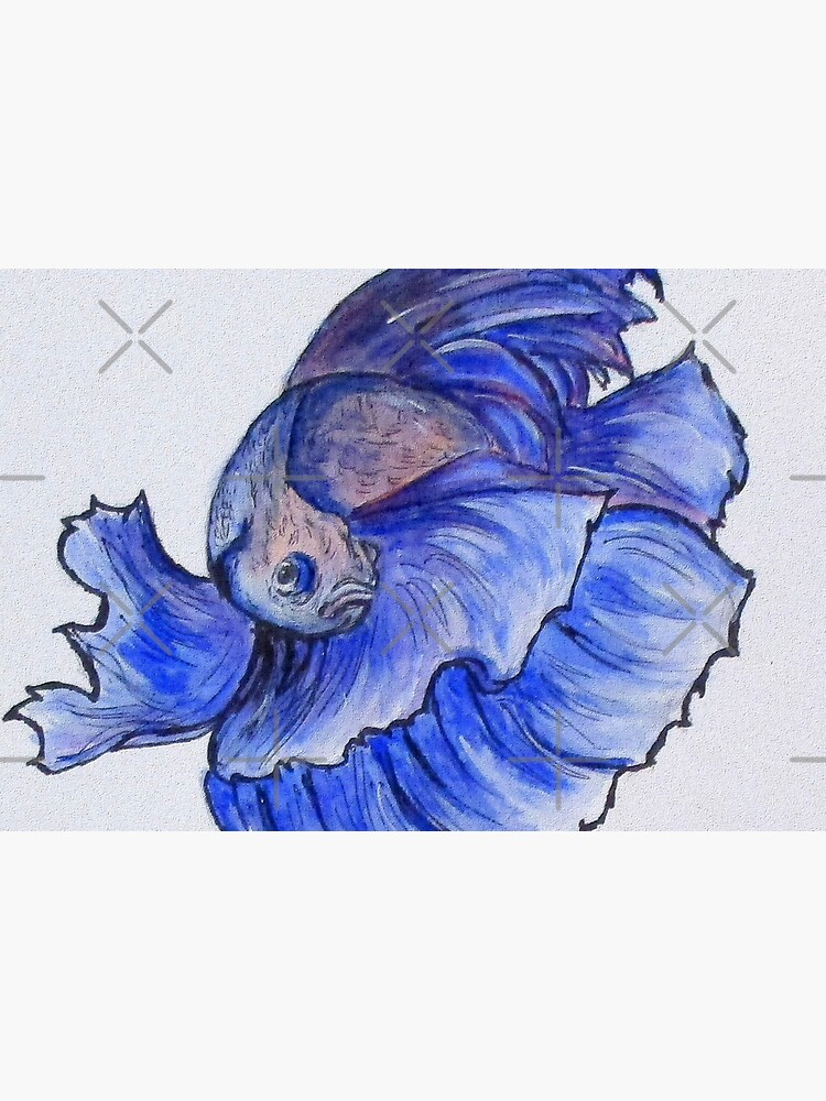 Ralphi, Betta Fish Digital Enhanced by cjkell