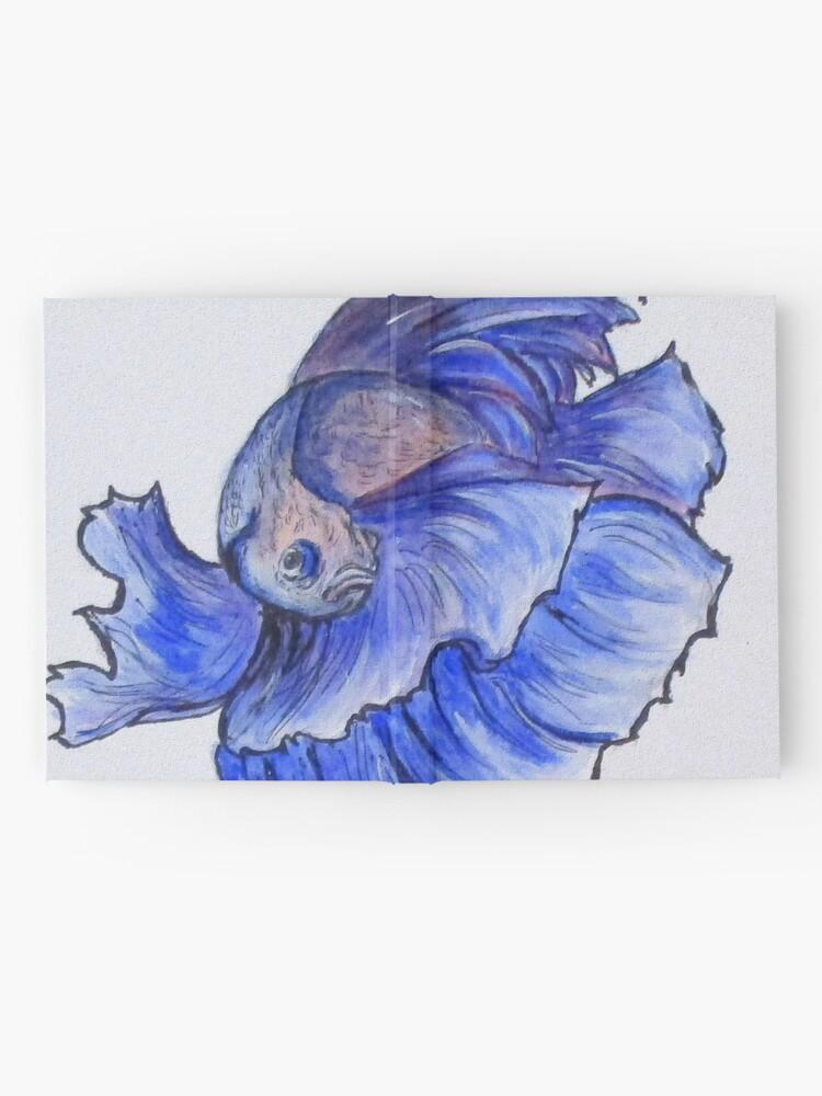 Alternate view of Ralphi, Betta Fish Digital Enhanced Hardcover Journal