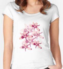 A summer breeze through flowers Women's Fitted Scoop T-Shirt