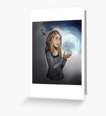 Clarke - the Flame Greeting Card