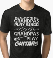 Grandpa guitars Tri-blend T-Shirt