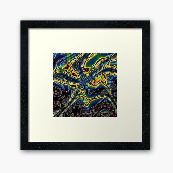 Iridescent Stars 6 Framed Art Print