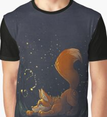 Firefly Fox - Orange Graphic T-Shirt